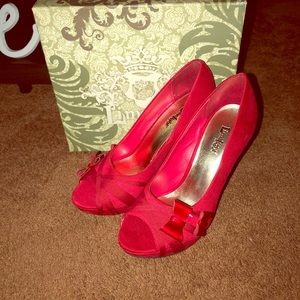 Limelight: Doria Heels in Red size 9 M